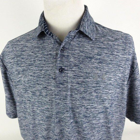 Under Armour Other - Under Armour Heat Gear Loose XL Golf Polo Shirt